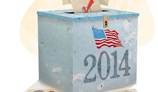 2014 Pro-life Mid-Term Ballots Illustration by Greg Groesch/The Washington Times