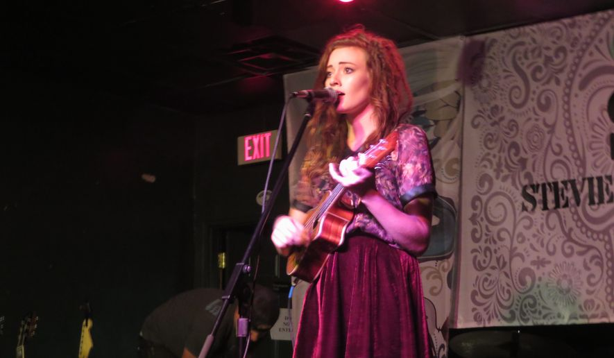 """Shelby Bock, a 16-year old aspiring musician from Peachtree City, Georgia, said the uke inspired her original cover of Miley Cyrus' """"You Can't Stop"""" for an American Idol audition."""