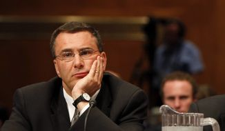 """Obamacare architect Jonathan Gruber said the health care bill was written in a """"tortured"""" way to ensure the Congressional Budget Office didn't score the individual mandate as a tax, even though the U.S. Supreme Court ultimately upheld the mandate as constitutional under Congress' taxing power. """"Lack of transparency is a huge political advantage,"""" Mr. Gruber said at the time. """"And basically, call it the stupidity of the American voter or whatever, but basically that was really, really critical to get the thing to pass."""" (Associated Press)"""