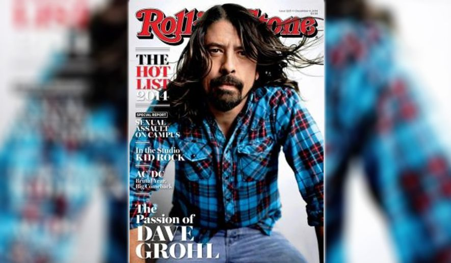 Rolling Stone magazine issue featuring the controversial report about sexual assault on campus