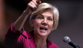 A grass-roots effort to draft Massachusetts Senator Elizabeth Warren to run for president in 2016 may upend the supposed inevitability of former Secretary of State Hillary Rodham Clinton becoming the eventual Democratic nominee. (Associated Press)