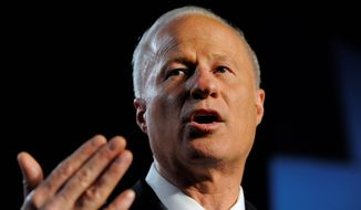 "Mike Coffman, Colorado Republican said he expects a ""critical mass"" of whistleblowers to help in a probe mismanagement of the VA's procurement system. (Associated Press)"