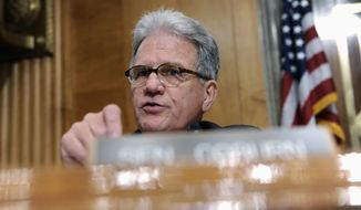 Sen. Tom Coburn, Oklahoma Republican (Associated Press) **FILE**