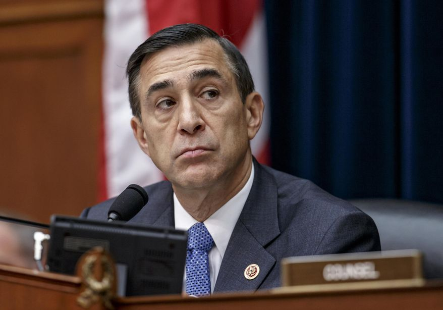 House Oversight Committee Chairman Darrell Issa, California Republican, listens during a hearing on Capitol Hill in Washington on Sept. 30, 2014. (Associated Press) **FILE**