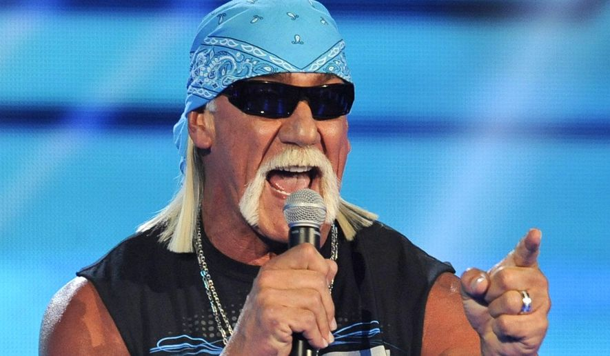 Hulk Hogan speaks at Spike TV's Video Game Awards in Culver City, Calif., Dec. 10, 2011. (Associated Press) ** FILE **