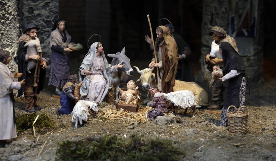 A Nativity Scene (AP Photo)