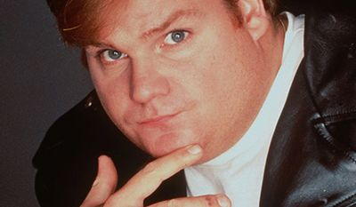 Chris Farley 1964-1997 - spent four seasons on TV's ``Saturday Night Live'' and starred in several movies, is shown in this undated photo.  Farley, 33, was found dead in his Chicago apartment Thursday, Dec. 18, 1997 of a drug overdose. (AP Photo/HO, NBC)