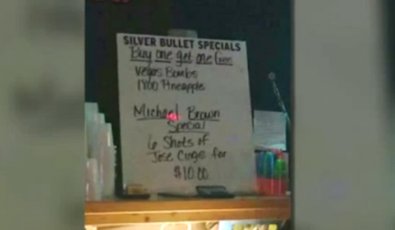 A Missouri pub is facing backlash over a 6-shot drink special that invoked the Ferguson police shooting of 18-year-old Michael Brown.