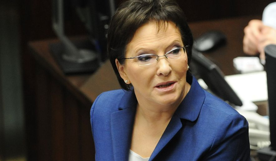 Poland's prime minister Ewa Kopacz said revelations of CIA torture could harm her country's relations with the U.S. (AP Photo/Alik Keplicz)
