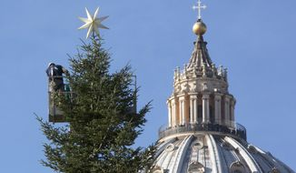 St. Peter's Basilica (AP Photo)