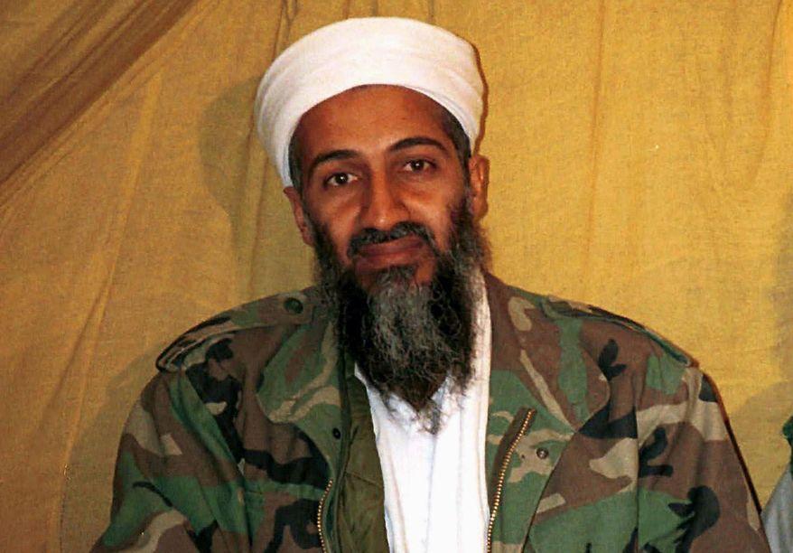 The late al Qaeda leader Osama bin Laden (Associated Press) ** FILE **