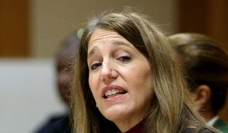 Hoping to wrangle last-minute shoppers for the Jan. 1 deadline, Health and Human Services Secretary Sylvia Mathews Burwell met with religious leaders Friday on Capitol Hill. (Associated Press)