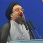 Iran's Ayatollah Seyed Ahmad Khatami (Associated Press) **FILE**