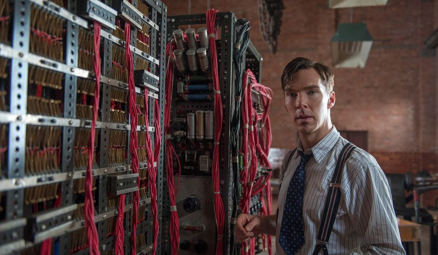 "Benedict Cumberbatch stars as Alan Turing, a math professor and puzzle enthusiast, who helped to break the German code in World War II in ""The Imitation Game."" (The Weinstein Company VIA THE ASSOCIATED PRESS)"