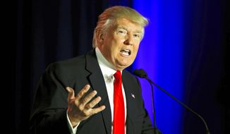 Donald Trump. (Associated Press) ** FILE **