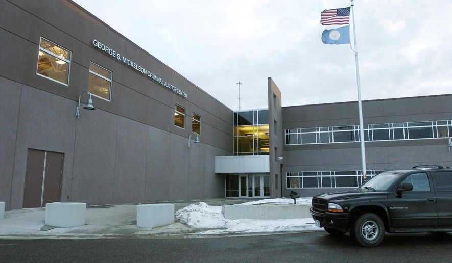 The Division of Criminal Investigation's crime lab, seen in a Dec. 4, 2014 photo, is housed in the George S. Michelson Criminal Justice Center in Pierre, S.D. South Dakota's Criminal Investigation Division has significantly reduced the average turnaround time for forensic testing this year, according to officials.  (AP Photo/Argus Leader, Lara Neel)