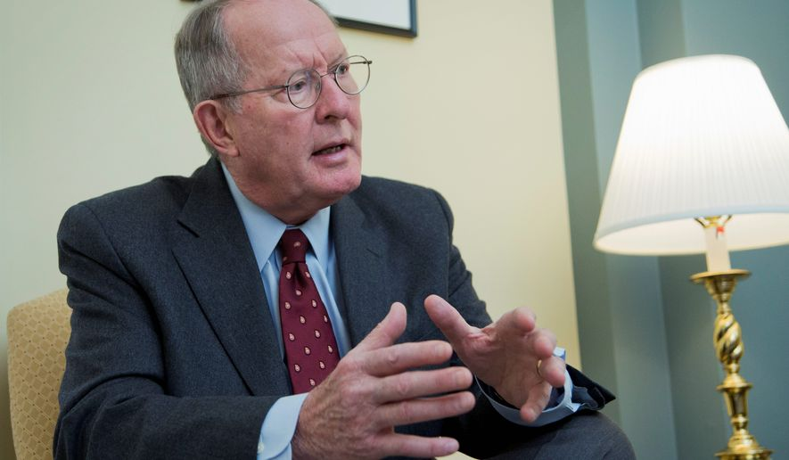 """I'd like to have the president's signature on it before summer,"" said Sen. Lamar Alexander, Tennessee Republican, of No Child Left Behind. (Associated Press)"