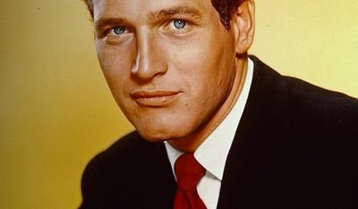 Paul Newman served in the U.S Navy in WWII in the Pacific. Newman enrolled in the Navy V-12 program at Yale University, hoping to be accepted for pilot training, but was dropped when it was discovered he was color blind. He was sent instead to boot camp and then received further training as a radioman and gunner. Qualifying as a rear-seat radioman and gunner in torpedo bombers, in 1944, Aviation Radioman Third Class Newman was sent to Barber's Point, Hawaii. He was subsequently assigned to Pacific-based replacement torpedo squadrons (VT-98, VT-99, and VT-100). These torpedo squadrons were responsible primarily for training replacement pilots and combat air crewmen, placing particular importance on carrier landings. He later flew from aircraft carriers as a turret gunner in an Avenger torpedo bomber. As a radioman-gunner, he served aboard USS Bunker Hill during the Battle of Okinawa in the spring of 1945. He was ordered to the ship with a draft of replacements shortly before the Okinawa campaign, but his life was spared because he was held back after his pilot developed an ear infection. The men who remained in his detail were killed in action. This is a 1964 photo of movie actor Paul Newman.  (AP Photo)