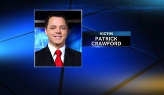 Local news meteorologist Patrick Crawford was shot multiple times Wednesday morning outside the KCEN-TV news station where he works in Waco, Texas. (WDSU)