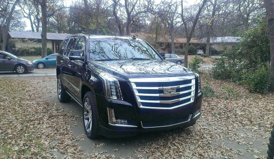 The 2015 Cadillac Escalade (Photo by Rita Cook)