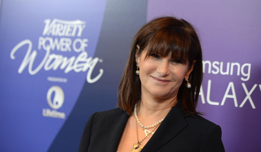 Amy Pascal, Sony Pictures Entertainment co-chairman, arrives at Variety's 5th Annual Power of Women event at the Beverly Wilshire Hotel in Beverly Hills in this Friday, Oct. 4, 2013, file photo. (Photo by Jordan Strauss/Invision/AP, File)