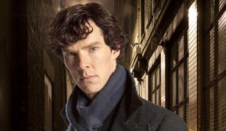"In this undated file publicity image released by PBS, Benedict Cumberbatch portrays Sherlock Holmes in ""Sherlock."" (AP Photo/PBS, File)"
