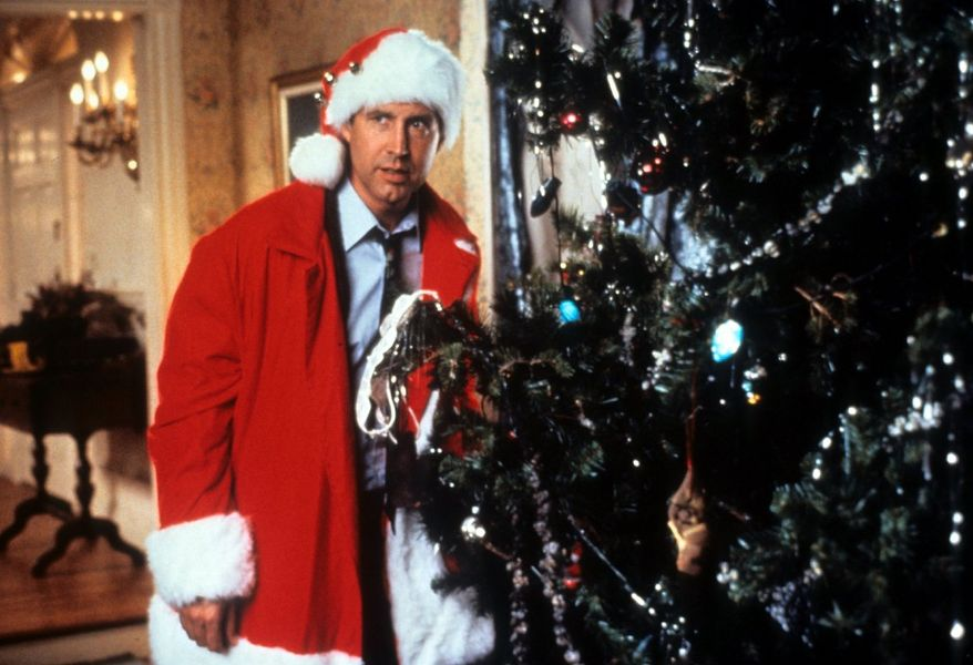 Chevy Chase stars as Clark Griswold in the 1989 hit 'Christmas Vacation.'