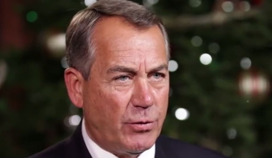 House Speaker John Boehner. (YouTube)