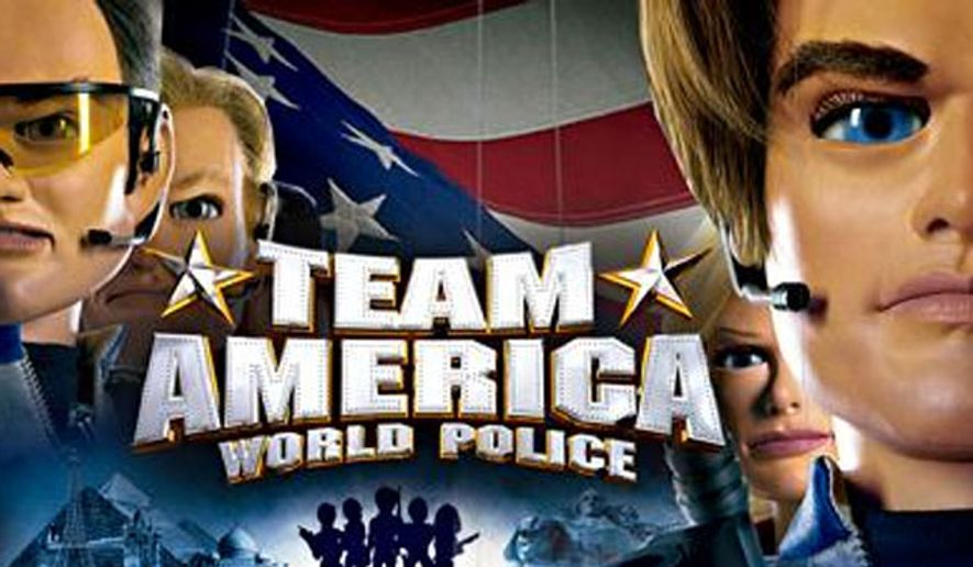 Image: Paramount Pictures promotional image, Team America: World Police