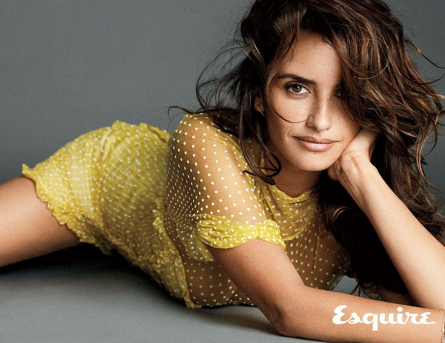 "Actress Penelope Cruz on the November 2014 issue of ""Esquire"" magazine. The magazine has named Cruz The Sexiest Woman Alive for 2014. (Photo courtesy of Esquire)"