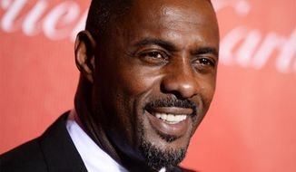 Idris Elba (Associated Press) **FILE**