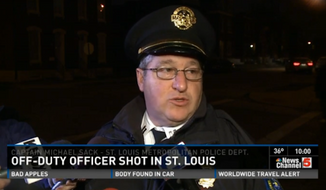 St. Louis Police Captain Michael Sack said a 28-year-old officer, who has been with the department for four years, remained in critical condition Saturday after being shot multiple times in his personal vehicle by an unknown assailant. (KSDK)