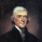 Thomas Jefferson (Portrait by Rembrandt Peale) ** FILE **