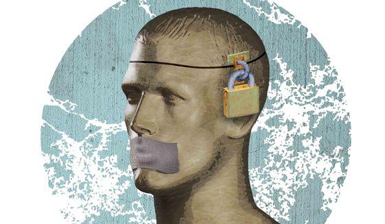 Academia Censorship Illustration by Greg Groesch/The Washington Times