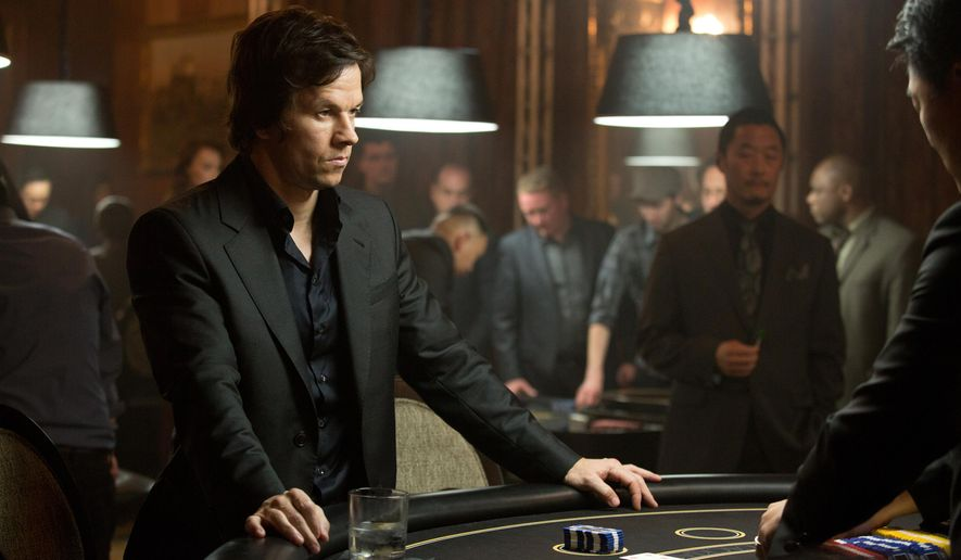 """In this image released by Paramount Pictures, Mark Wahlberg appears in a scene from """"The Gambler."""" (AP Photo/Paramount Pictures, Claire Folger)"""