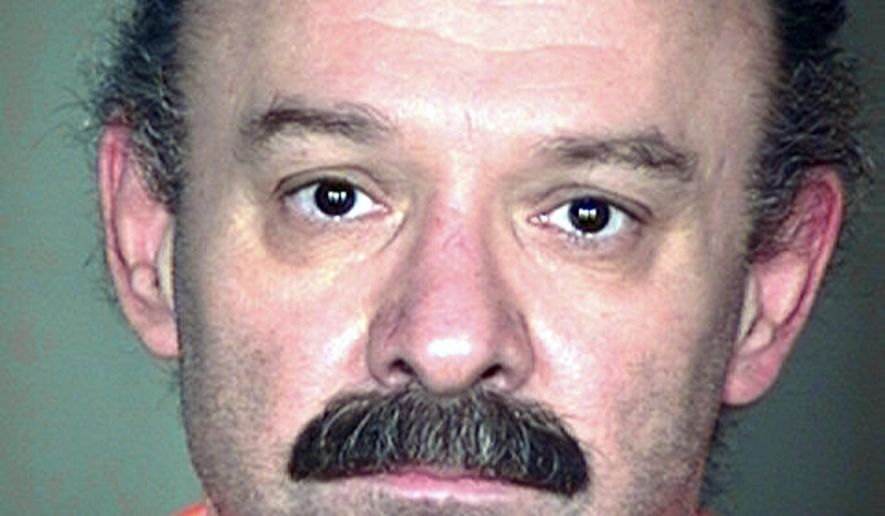 FILE - This undated file photo provided by the Arizona Department of Corrections shows inmate Joseph Rudolph Wood. Arizona officials said Monday, Dec. 22, that they are changing the drugs they use in executions after nearly two hours it took to execute Wood in July. (AP Photo/Arizona Department of Corrections, File)