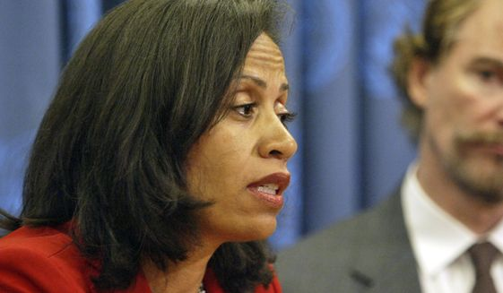 """""""It is critically important to look at the demand for core prostitution and the demand that fuels sex trafficking,"""" said Taina Bien-Aime, executive director of the New York-based Coalition Against the Trafficking in Women. """"Prostitution is inherently violence against women. The majority of the people exploited in the sex trade are women."""" (Associated Press)"""