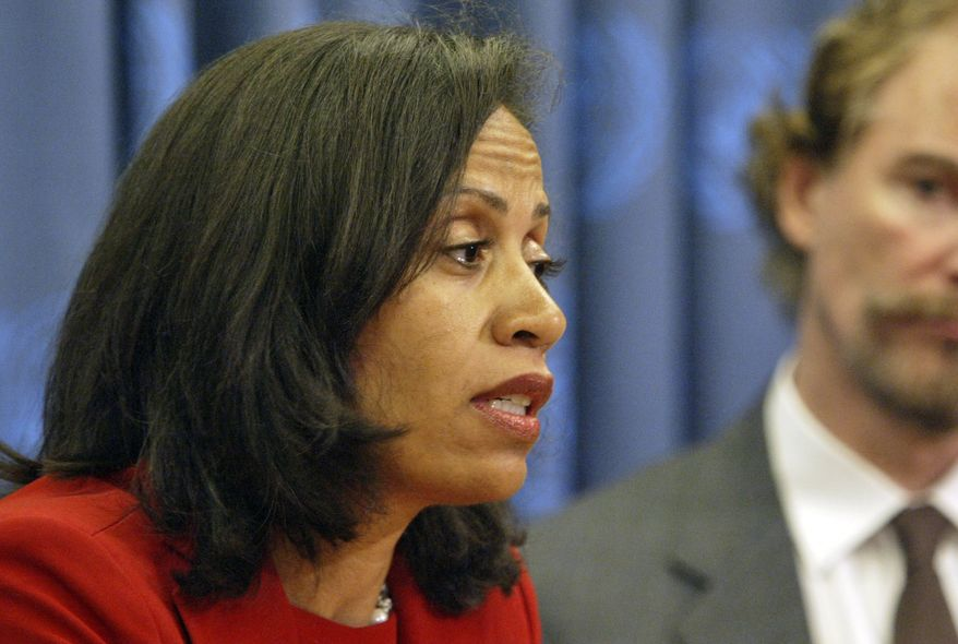 """It is critically important to look at the demand for core prostitution and the demand that fuels sex trafficking,"" said Taina Bien-Aime, executive director of the New York-based Coalition Against the Trafficking in Women. ""Prostitution is inherently violence against women. The majority of the people exploited in the sex trade are women."" (Associated Press)"