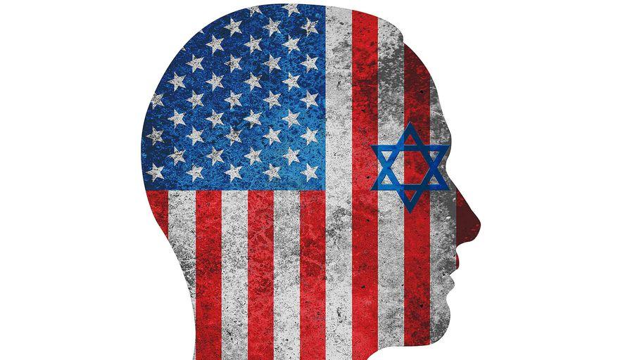 Illustration on Israeli optimism by Greg Groesch/The Washington Times