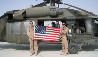 Chris Marvin (left) was an Army helicopter pilot before suffering numerous injuries in a 2004 crash on the Afghanistan-Pakistan border. Never one to go down without a fight, Mr. Marvin spent years recuperating and became managing director of Got Your 6, a nonprofit that works to inspire and assist other combat veterans like himself.