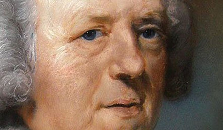 John Newton          Detail from a portrait by John Russell
