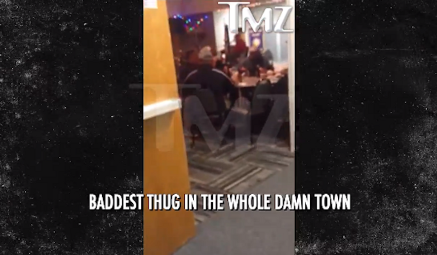 """The Los Angeles Police Department is investigating after a song performed at a retired officer's party reportedly mocked Michael Brown, who was fatally shot by a Ferguson cop, as the """"baddest thug in the whole damn town."""" (TMZ)"""
