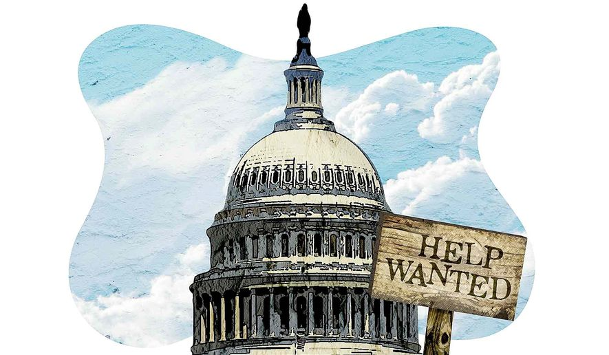 Help Wanted Illustration by Greg Groesch/The Washington Times