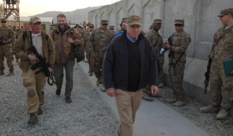 Image: Twitter, John McCain