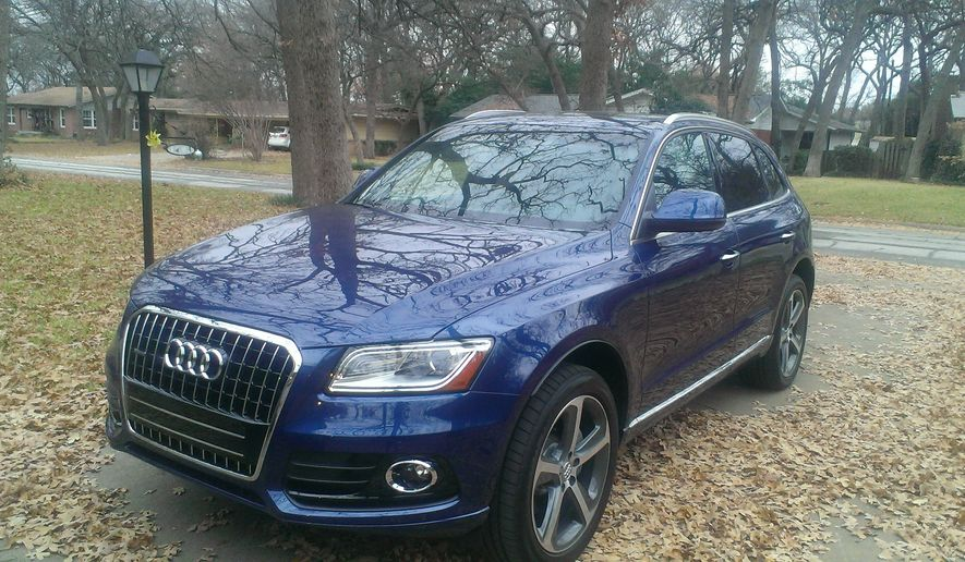 AUDI Q5 2015: With 7 trims, the 2015 Audi Q5 is a car made