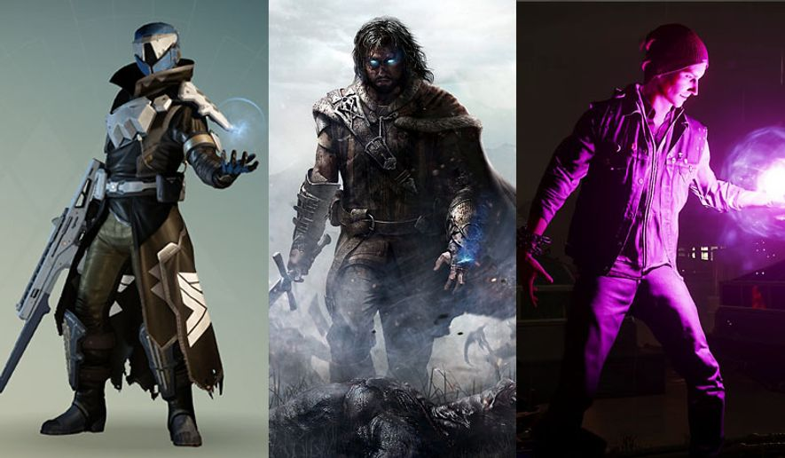 Video game superstars from 2014 inlcuded a Guardian from Destiny, Talion from Middle-earth: Shadow of Mordor and Delsin Rowe from Infamous: Second Son.