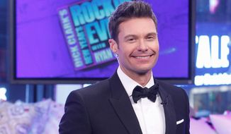 Ryan Seacrest continues as emcee, a duty he first took over from Dick Clark during the last few years of Clark's life. (abc/lou rocco)