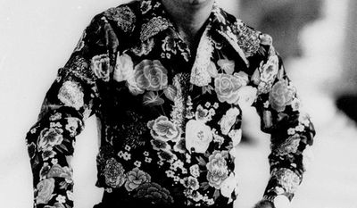 4. He Stopped Loving Her Today by George Jones -Country singer George Jones is shown in this June 1977  photo. (AP Photo)