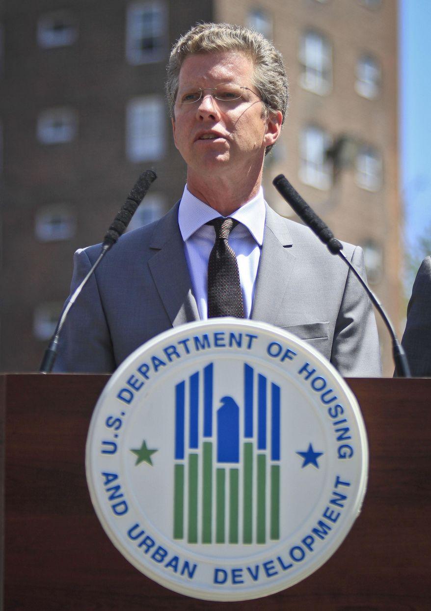 Housing and Urban Development Secretary Shaun Donovan.  (AP Photo/Bebeto Matthews)