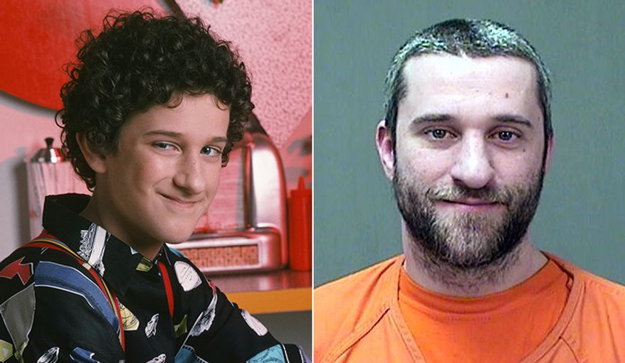 "This Friday, Dec. 26, 2014 booking photo provided by the Ozaukee County Sheriff shows Dustin Diamond. Diamond, who played Screech on the 1990s TV show ""Saved by the Bell,"" has been charged with stabbing a man at a Wisconsin bar. (AP Photo/Ozaukee County Sheriff)"